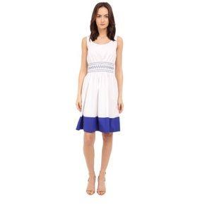 Kate Spade Smocked Poplin Dress